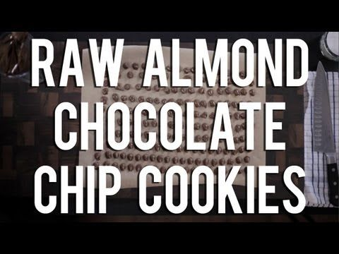 The Raw Chef TV | Raw food almond chocolate chip cookie recipe - YouTube