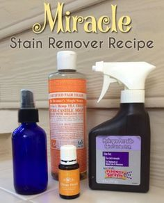 The Homestead Survival | Miracle Stain Remover For Stubborn Clothing Stains | http://www.greenchildmagazine.com/diy-super-stain-remover/