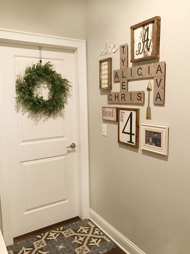 Tiles For Wall Decor : Best ideas about scrabble wall art on