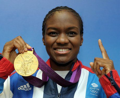 Nicola Adams with her gold medal won in the boxing 51kg category at London 2012.