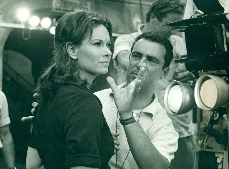 Lea Massari and Michelangelo Antonioni