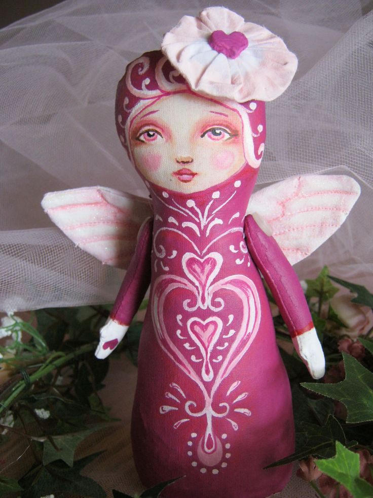 Angel Stump Doll by Hally Levesque