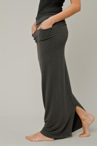 long skirt with waistband you can wear up or folded