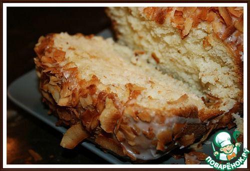 Кокосовый кекс на кефире - кулинарный рецепт