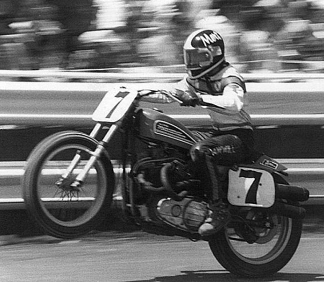 Mert Lawwill 7 Triggers My Ocd A Bit But Otherwise Its Really Cool Flat Track RacingFlat TrackerTrack PicturesMy OcdBike