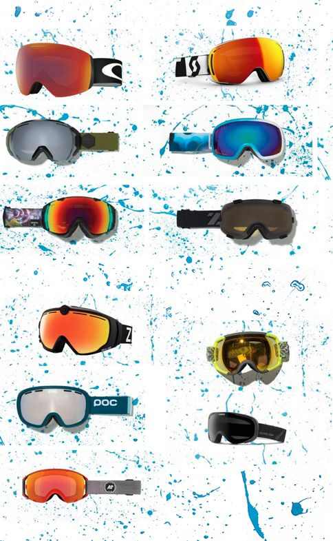 See it. Slay it. Here are 11 new goggles that change how you see the mountain.