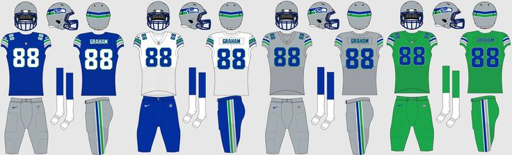 awesome Seattle Seahawks Uniform Concepts