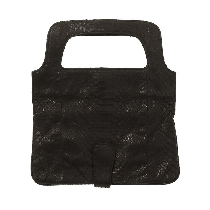 New foldable clutch in real python - here it is in the open position.  This and other items can be seen at www.salamastra.com