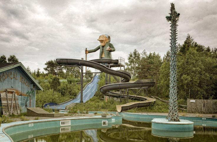 Picture taken in an abandoned theme park in Sweden.