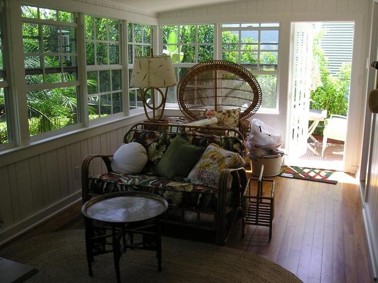 Best Retro Florida Bungalow Sunroom Rooms I Love Porches 400 x 300