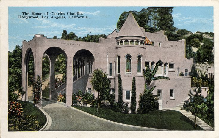 The Home Of Charles Chaplin Hollywood Los Angeles