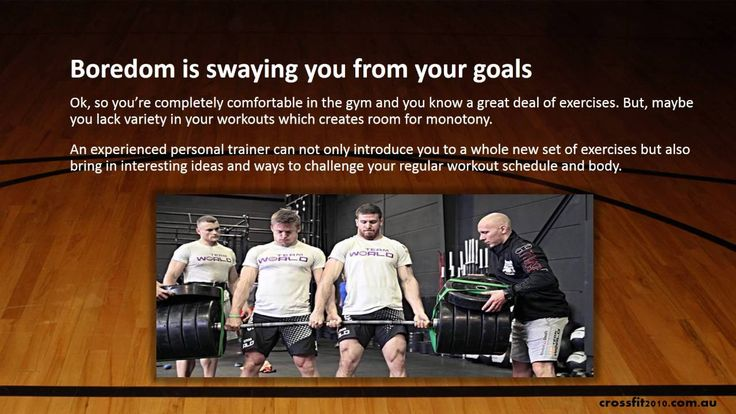 It's affordable and fruitful to use the services of a personal trainer. Moreover, here are three signs that indicate personal training is a requisite for your workout schedule.visit https://crossfit2010.com.au/trainers/
