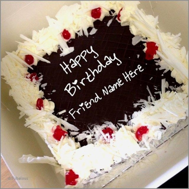 25 Great Photo Of Birthday Cake Images With Name Editor