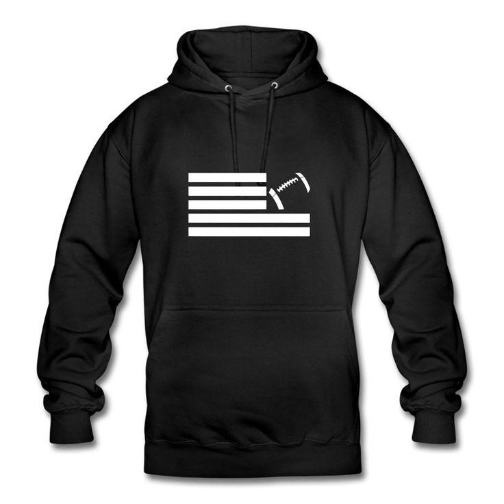 Land Of Football Hoodie by fmble Origins. #lof #landoffootball #fmble #fmblewear #footballfashion #fanwear #ranNFL #ranNFLsuechtig #football #americanfootball #nfl #streetwear #hoodie #kapuzensweater