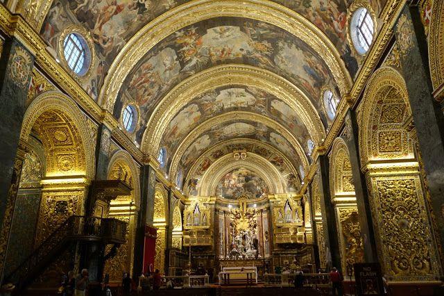 Apen matkat: Malta, osa 26, kultaa ja kimallusta Pyhän Johanneksen katedraalissa