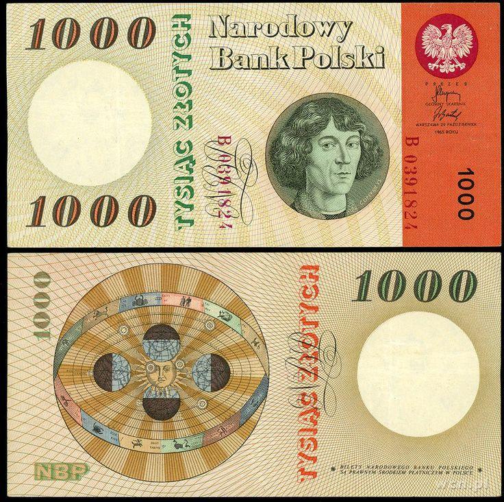 stare 1000 złotych