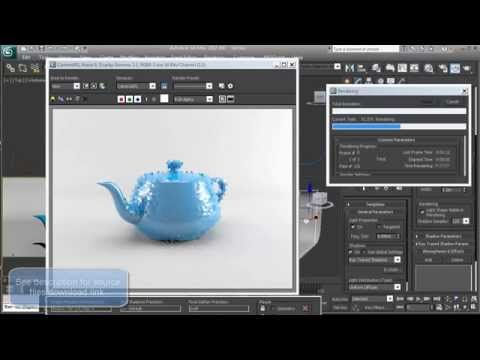 3ds Max Studio Lighting - Mental Ray Tutorial - YouTube