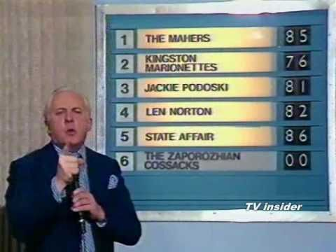 """Opportunity Knocks Thames TV 1970s.  Ladies and Gentlemen, just put """"crap"""" on your postcard and we'll know who you mean..!!!"""