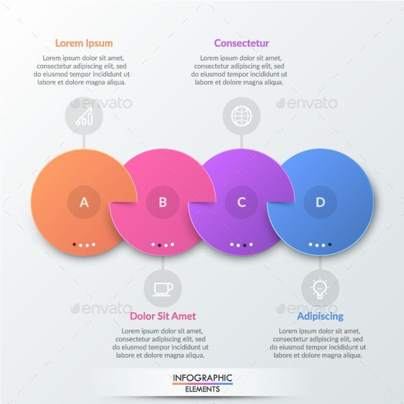 Paper Infographic Circles Template Infographic Design Template Circle Infographic Circle Template
