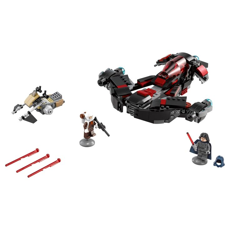 lego disney star wars eclipse fighter with spring loaded missiles 75145
