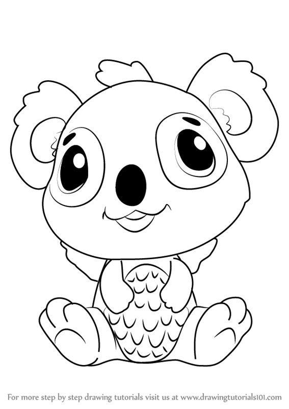 Pin Von Sonja Eichberger Auf Hatchimals Koala Ausmalbilder