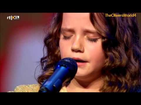 """Shocking voice from this Little Girl's Opera voice.  Aria On """"Holland's Got Talent"""" Is Stunning !  She'll be famous!"""
