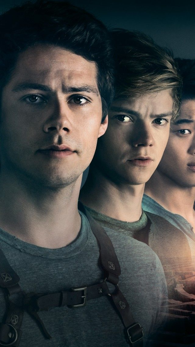 Wallpaper Maze Runner The Death Cure Dylan O Brien Thomas Br