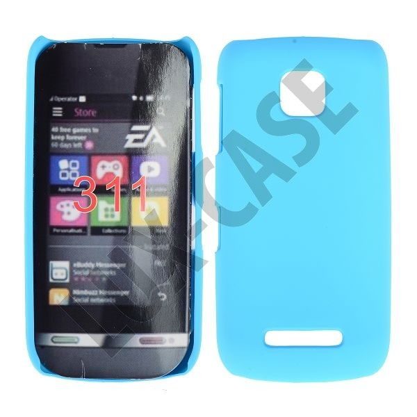 Nokia Asha 311 Kotelo Vaaleansininen