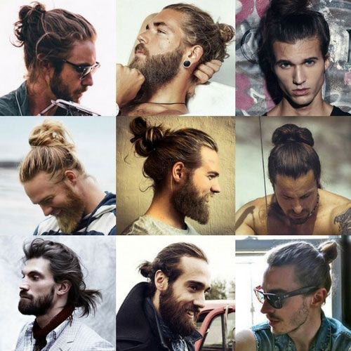 Best Man Bun Haircuts - How To Do A Man Bun