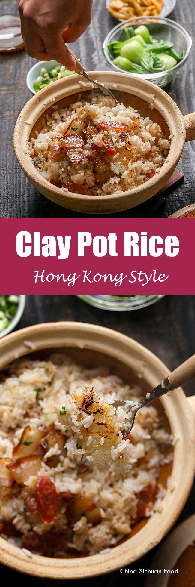 Clay Pot Rice | ChinaSichuanFood.com