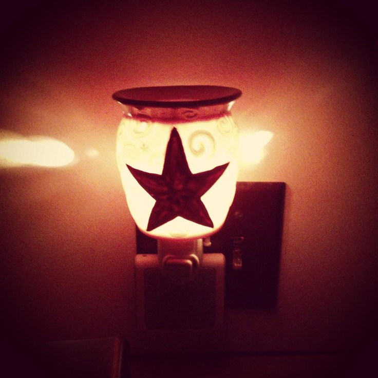 Rustic Star Plug In Scentsy Warmer I Love It