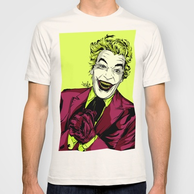 Joker On You 2 T-shirt by Vee Ladwa - $18.00