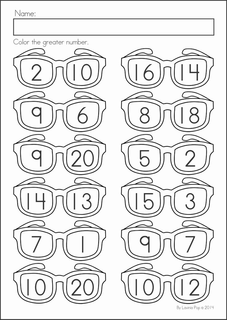 Kindergarten SUMMER Review Math & Literacy Worksheets & Activities. 104 pages. A page from the unit: greater number