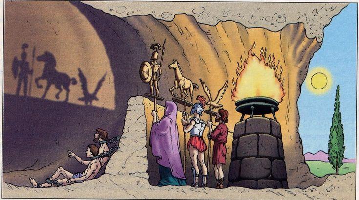 Educación y desarrollo social : Platón, el mito de la caverna y el ...