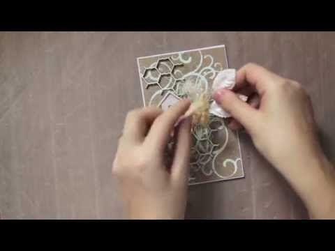▶ Irina Gerschuk - flourish card for ScrapFX; step-by-step - YouTube