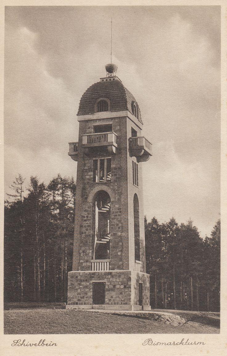 Bismarckturm - Wieża Bismarcka.