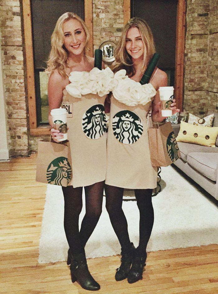 Starbucks Halloween Costume | Pumpkin Spice Latte Costume                                                                                                                                                                                 More