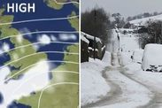 """BBC News weather: UK set for WHITE WEEKEND with bitterly cold winds as big freeze LOOMS -  Britain is set for another cold blast as a new freezing Siberian system closes in on the country bringing plunging temperatures and fresh snow showers.  BBC News weather forecaster Helen Willets warned large swathes of the country are expected to be hit by the new snow belt pulling in from the east.  The BBC forecaster said: """"As we go through the night well see our rain turn to snow across the hills…"""