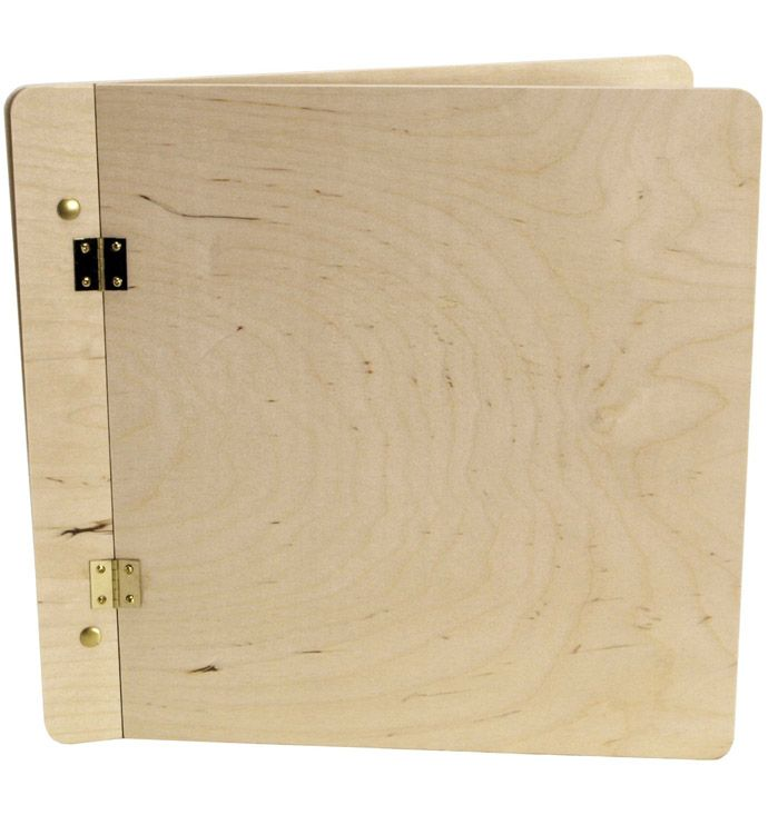 Wood Book Cover 14in