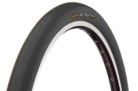 Continental Ultra Sport Hometrainer Tire - Clincher Black, 700x23