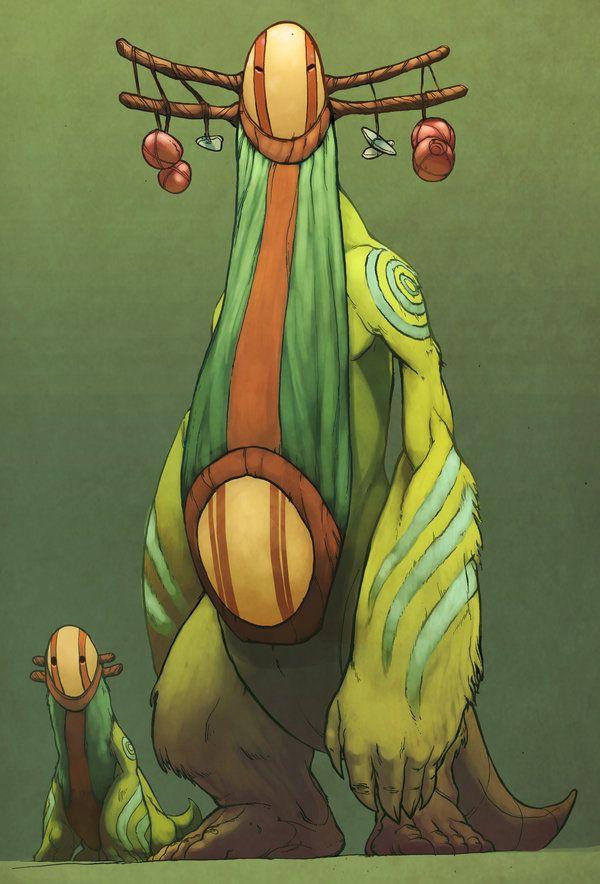 masked forest beast [Rajak by Brandon Tyler Cebenka]