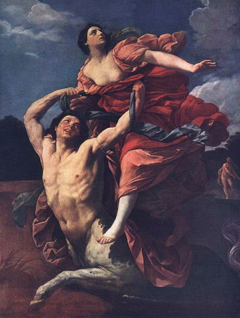 Η αρπαγή της Δηιάνειρα (1617-19)