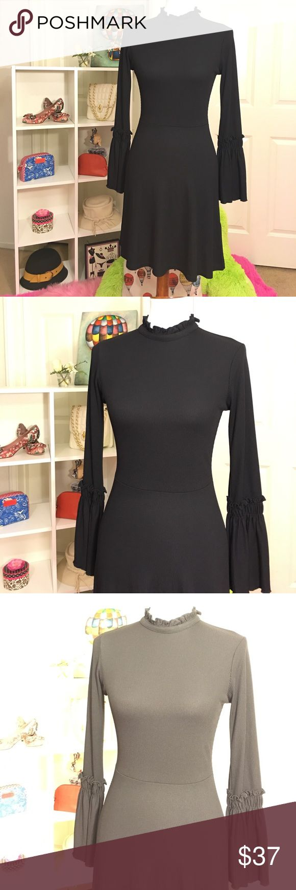 NEW TOPSHOP DRESS SIZE: 6 New Topshop dress size: 6 / color: black/ stretchable/ see all photos!!! Thank you!!! Topshop Dresses