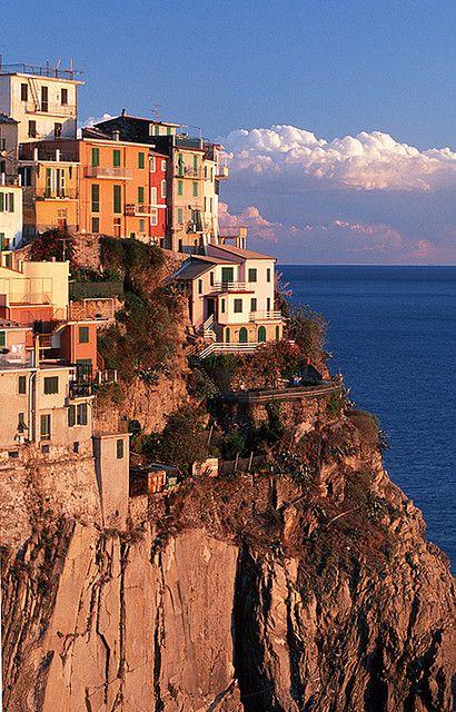 Cliff Dwellers, Manarola, Cinque Terre, Italy