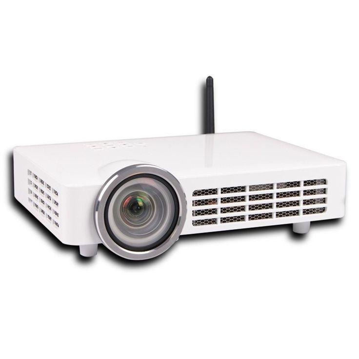 "800lumens 12000:1 HD DLP MINI Led Active 3D Projector Video Digital Projektor Proyector Projector 300"" screen Short focal projector 1.29M projector 100inch. Full HD DLP Really 3D Projector. Short focal projector. DLP 3D Projector. 2D to 3D. support wifi bluetooth."