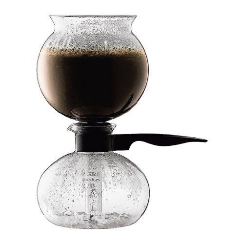 Bodum Santos Stovetop Glass Vacuum 34-Ounce Coffee Maker - http://thecoffeepod.biz/bodum-santos-stovetop-glass-vacuum-34-ounce-coffee-maker/