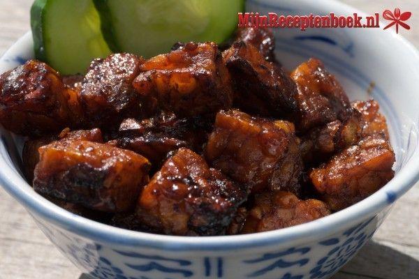 Keripik tempeh (krokant gebakken tempeh) recept
