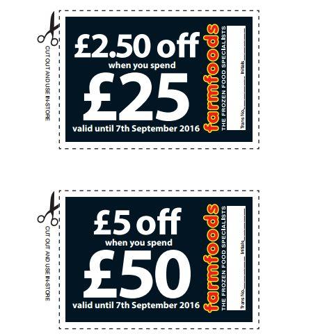 FREE Farm Foods Money Off Vouchers - Gratisfaction UK