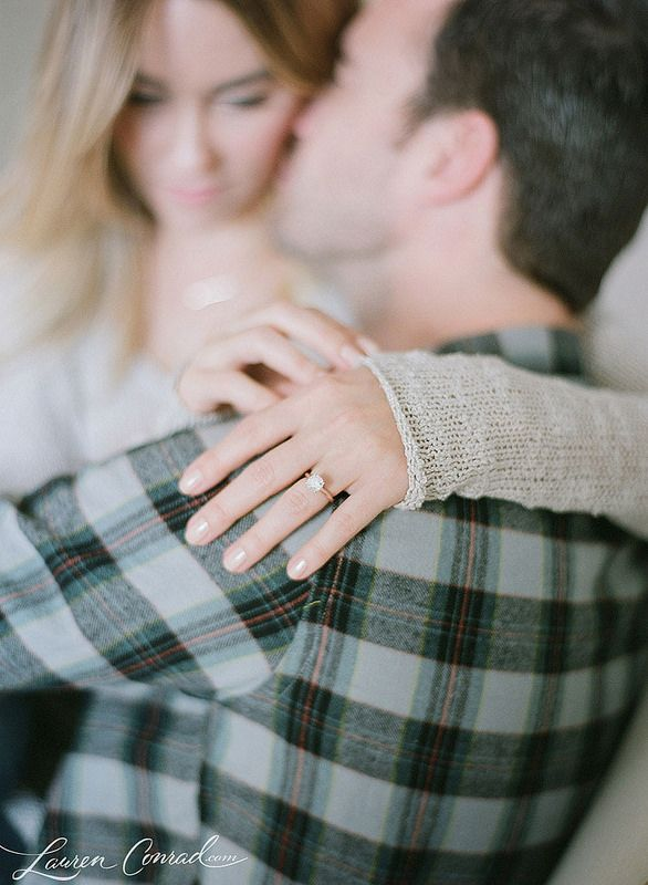 Lauren Conrad engagement shoot. Elizabeth Messina.