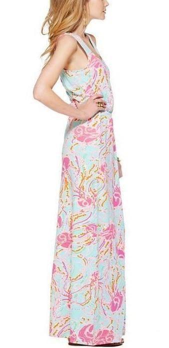 Lilly Pulitzer Mills Racerback Maxi Dress in Jellies Be Jammin